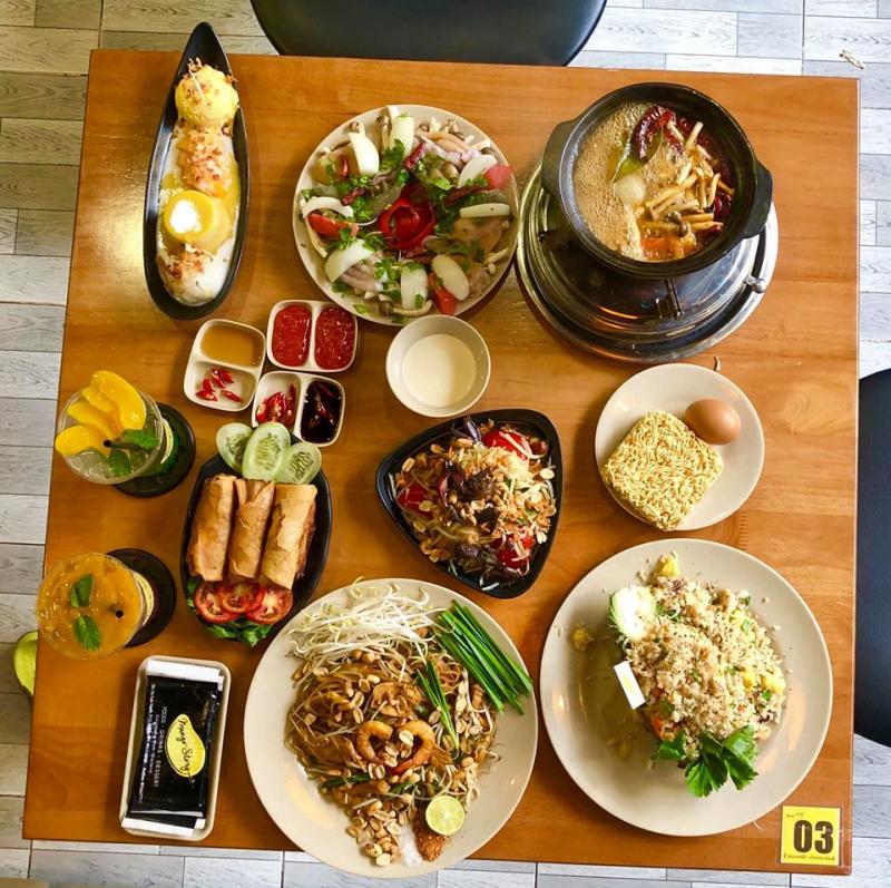Menu của Mango Story Saigon được đầu bếp chăm chút, hương vị chuẩn Thái Lan với giá không quá đắt