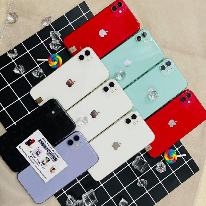 Một vài dòng iPhone được bán tại Mạnh Cường Mobile