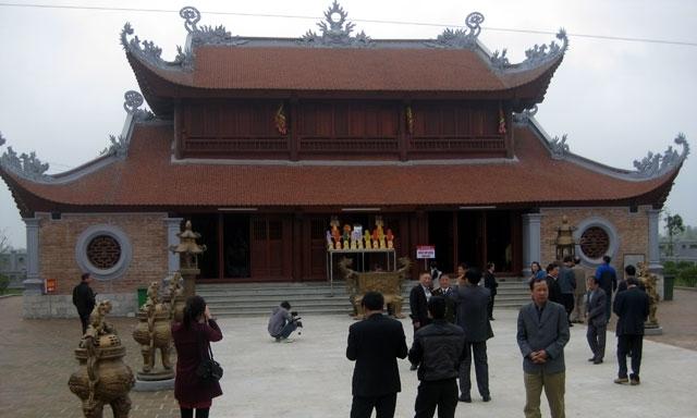 Lễ hội truyền thống đền A Sào, xã An Thái, Huyện Quỳnh Phụ, tỉnh Thái Bình