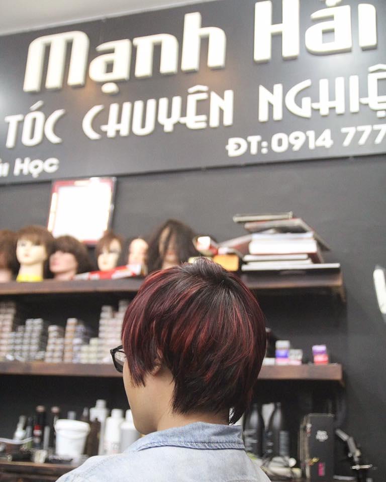 MẠNH HẢI Hair salon - salon làm tóc đẹp nhất tại TP Vinh, Nghệ An