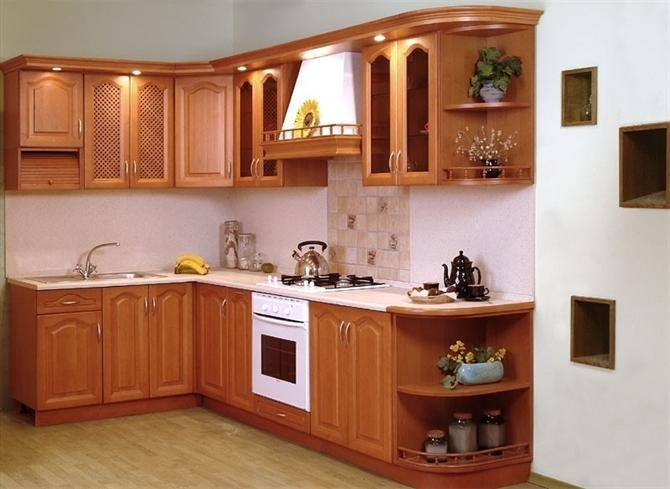 Nội thất nhà bếp của Mạnh Hùng (Nguồn: Sưu tầm)