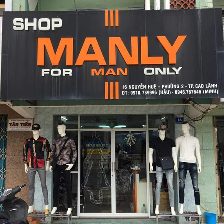 Manly shop
