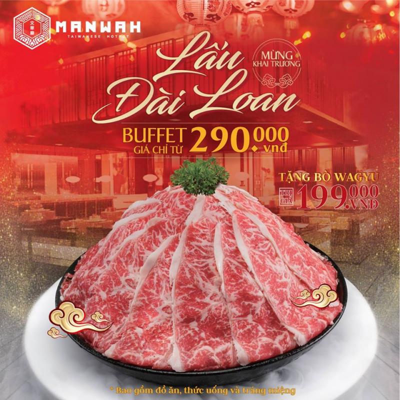 Buffet lẩu Đài Loan