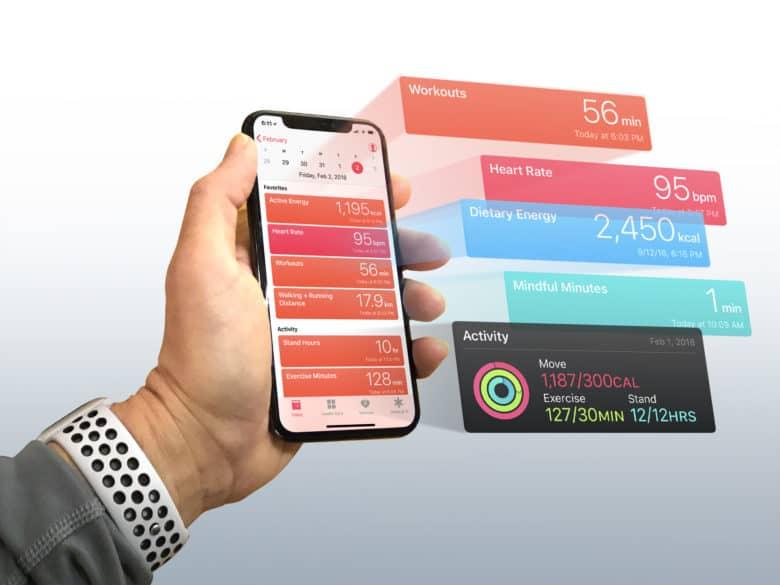 Ứng dụng sức khỏe của Apple