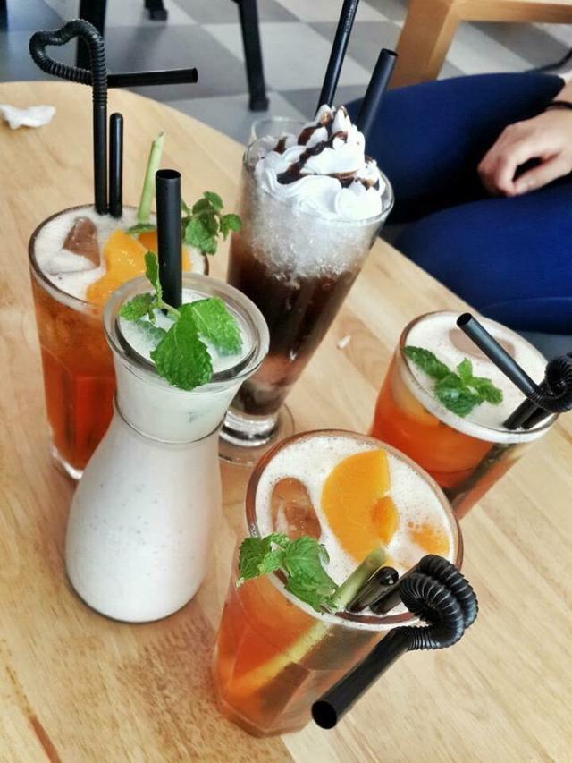 Một số đồ uống tại Maple Coffee