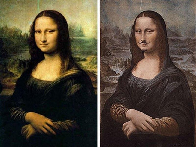 Bức họa Mona Lisa và L.H.O.O.Q