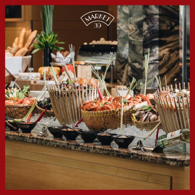 Market 39 - Seafood and International cuisine