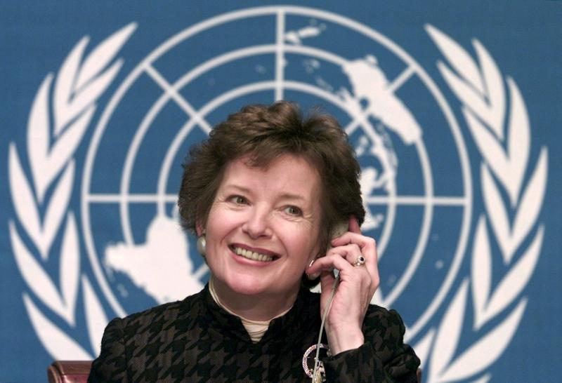 Mary Robinson là nữ tổng thống đầu tiên của Ireland