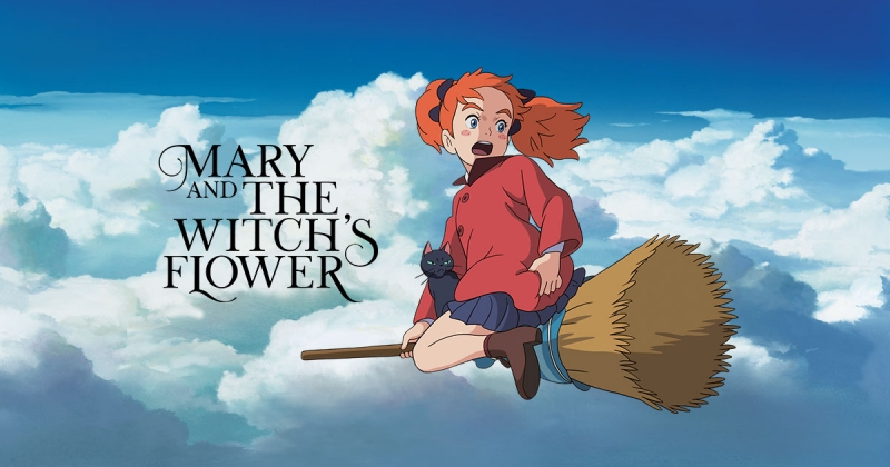 Phim Mary và bông hoa phù thủy