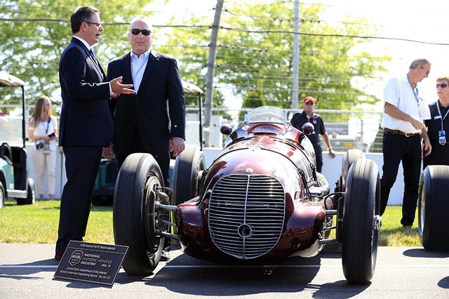 Maserati 8C.T.F. Boyle Special