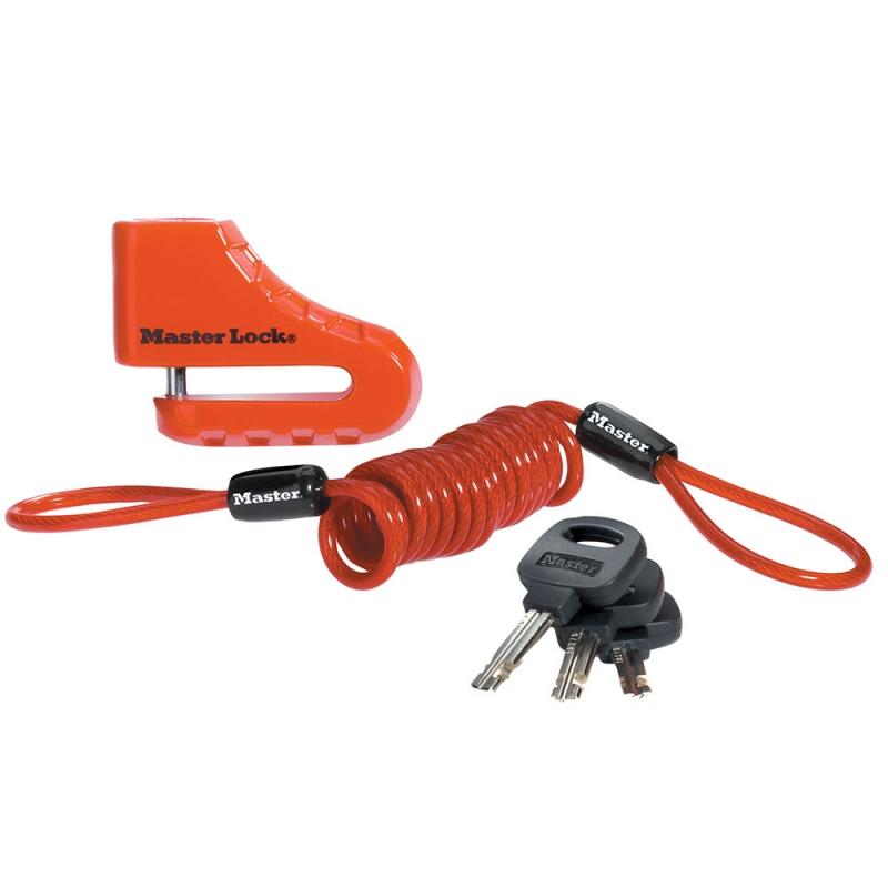 Master Lock 8303DPS Disc Brake Lock
