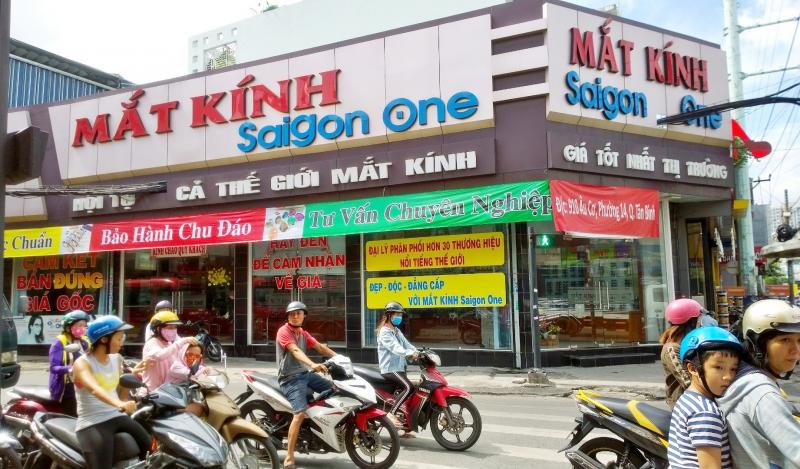 Cửa hàng mắt kính Sài Gòn One