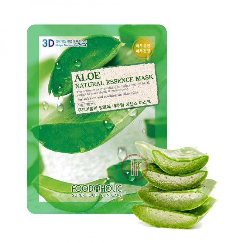 Mặt nạ 3D dưỡng da tinh chất nha đam FoodAHolic Aloe
