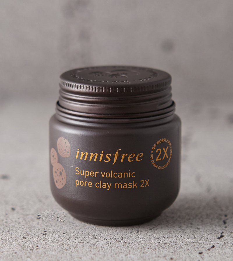 Mặt nạ đất sét Innisfree Super Volcanic Pore Clay Mask 2X