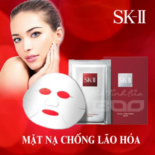Mặt Nạ Dưỡng Da Chống Lão Hoá SK-II Facial Treatment Mask với hàm lượng tinh chất Pitera cao giúp bạn có được 1 làn da mịn màng, khỏe đẹp đầy sức sống.
