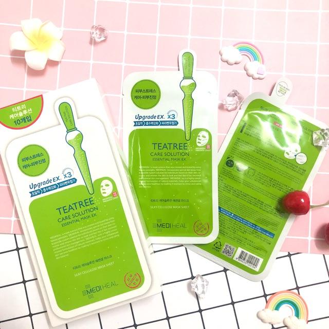 Mặt Nạ Trị Mụn Mediheal Tea Tree Care Solution Essential Mask Ex