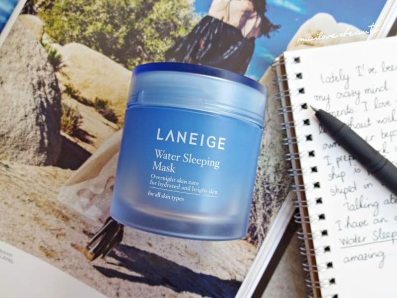 Mặt nạ ngủ dưỡng da rạng rỡ Laneige Special Care Water Sleeping Mask 70ml