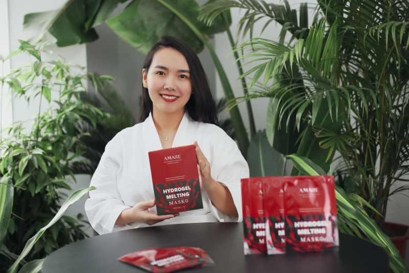 Mặt nạ thạch AMARE Hydrogel Melting Mask