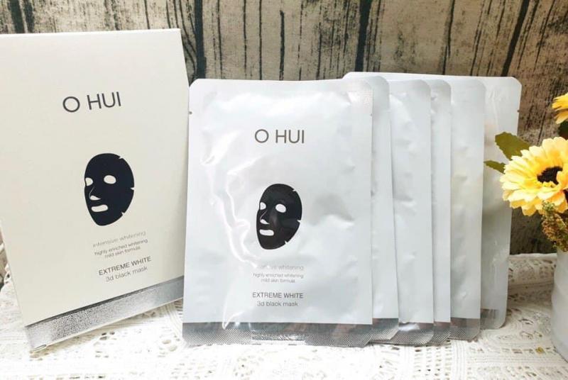 Mặt nạ dưỡng trắng da Ohui Extreme White 3D Black Mask