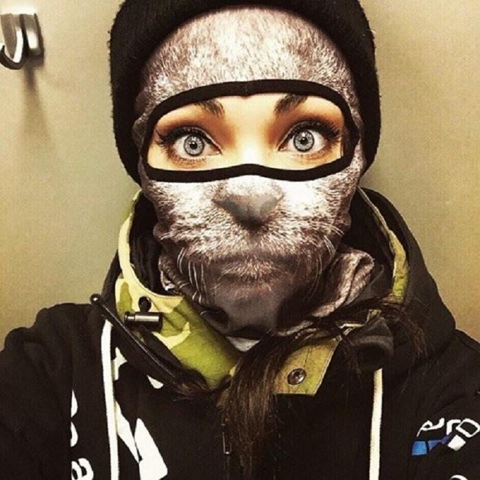 Mặt nạ trượt tuyết hình thú