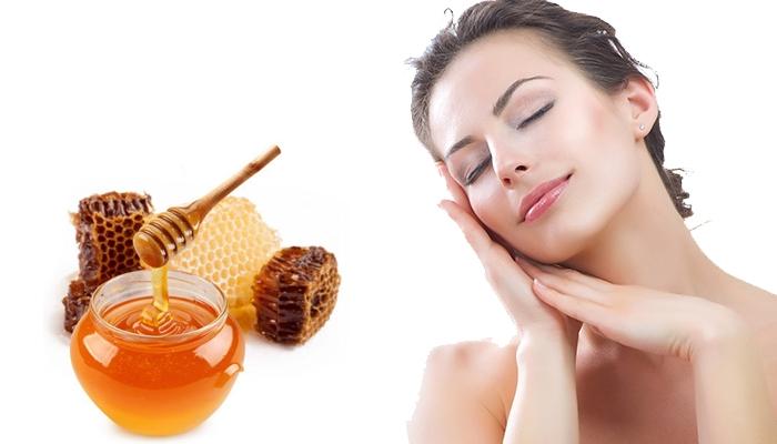 Mật ong rất có tác dụng trong việc làm mềm và trắng da