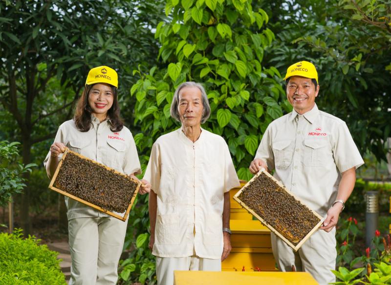 Mật ong Tam Đảo - Honeco