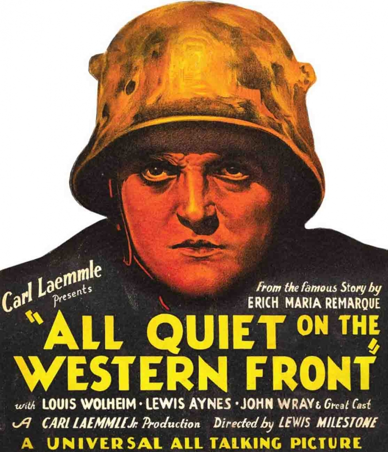 Poster phim All Quiet on the Western Front năm 1930