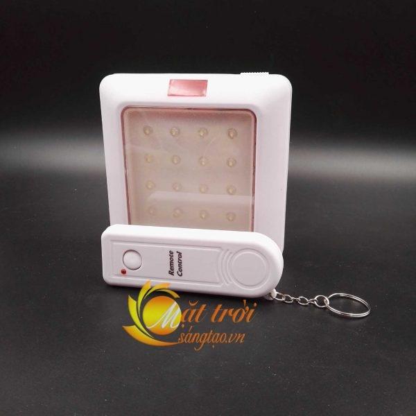 Đèn led vuông 16 led điều khiển từ xa
