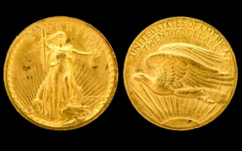 Đồng xu 20 đô la này hiện đã có giá trị lên tới 7 - 10 triệu đô la Mỹ