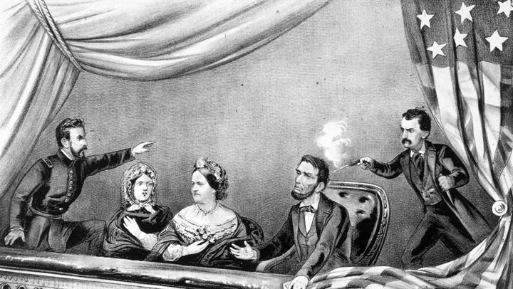 John Wilkes Booth ám sát Tổng thống Abraham Lincoln