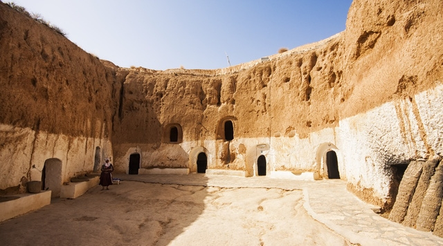 Thị trấn Matmata, Tunisia