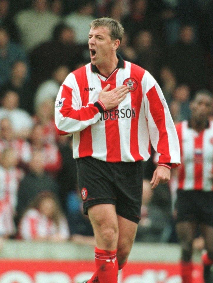Matt Le Tissier gắn bó với Southampton