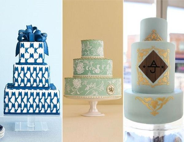 Gợi ý nho nhỏ là các cặp đôi có thể chọn cách điệu hai chữ cái đầu tên mình và người ấy in lên bánh.