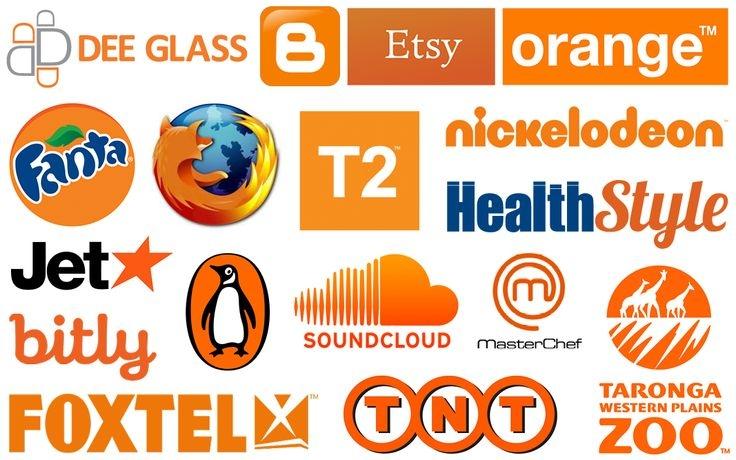 Những thương hiệu nổi tiếng sử dụng màu da cam