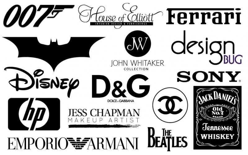 Những thương hiệu sử dụng màu đen-trắng
