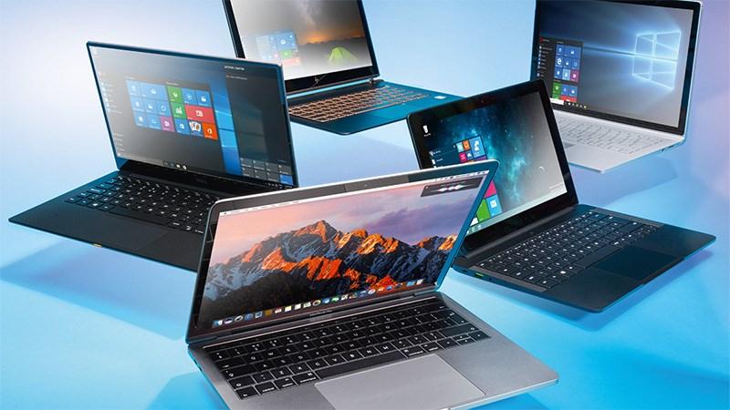 Top 10 mẫu laptop bán chạy nhất tháng 5/2019