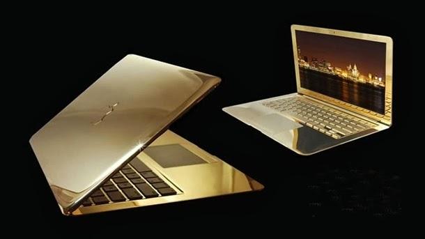 MacBook Pro dát vàng 24K – Giá 30.000 USD