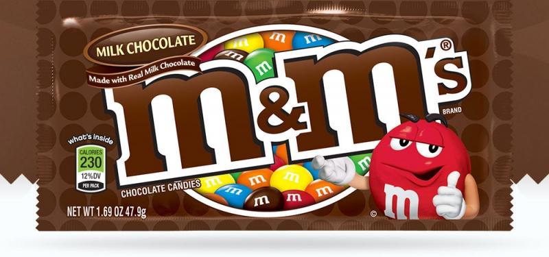 M&M's - thương hiệu nổi tiếng nhất sử dụng màu nâu