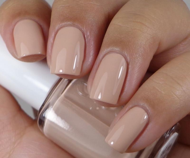 Màu nude đơn giản, nhẹ nhàng với những bạn có nước da ngăm