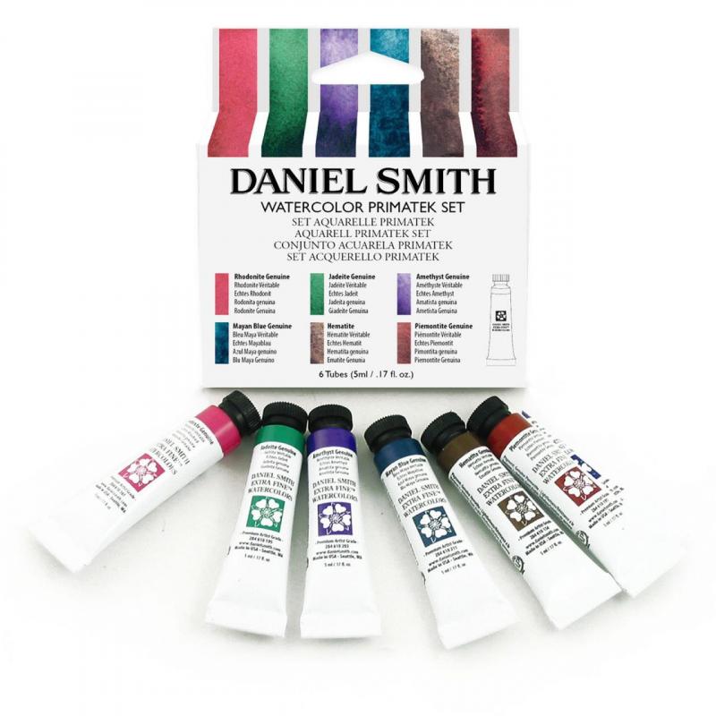 Bộ Màu Nước Daniel Smith Extra Fine WaterColor Primatek Set 6 Màu 5ml