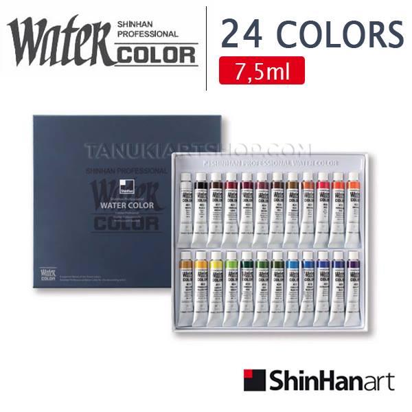 Màu nước ShinHan Professional set 24 màu