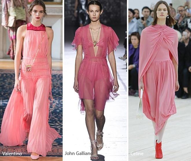 Màu hồng ngọt ngào và nữ tính cũng sẽ nhanh chóng thống trị làng thời trang 2017 (theo Vogue)