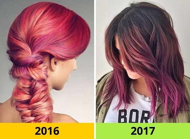 Màu tóc tĩnh lặng là xu hướng của năm nay