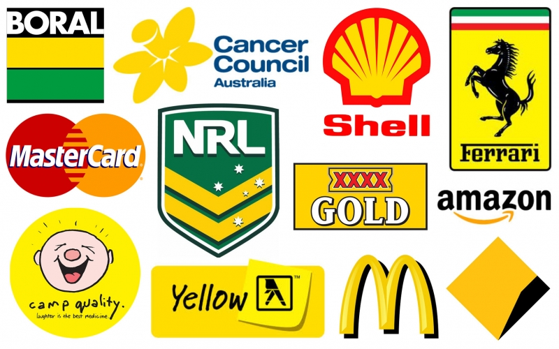 Những thương hiệu nổi tiếng sử dụng màu vàng
