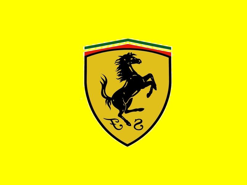 Ferrari - thương hiệu nổi tiếng nhất sử dụng màu vàng