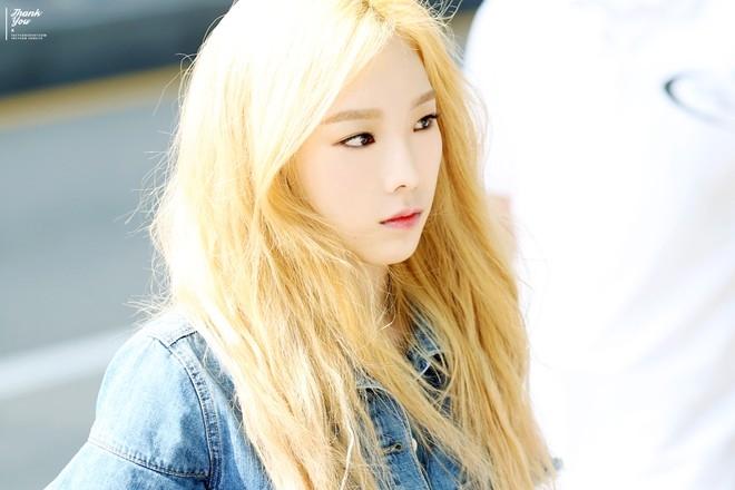 Màu tóc vàng chanh cực hợp với những cô nàng da sáng