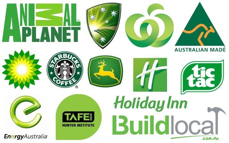Những thương hiệu nổi tiếng sử dụng màu xanh lá cây