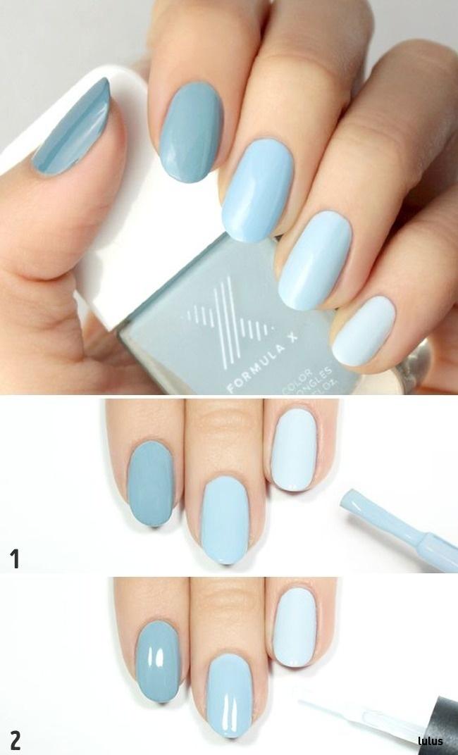 Màu xanh ombré