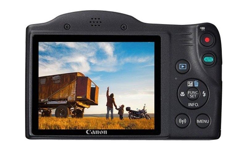 Máy ảnh CANON POWERSHOT SX420IS với màn hình LCD cho chất lượng ảnh tuyệt vời