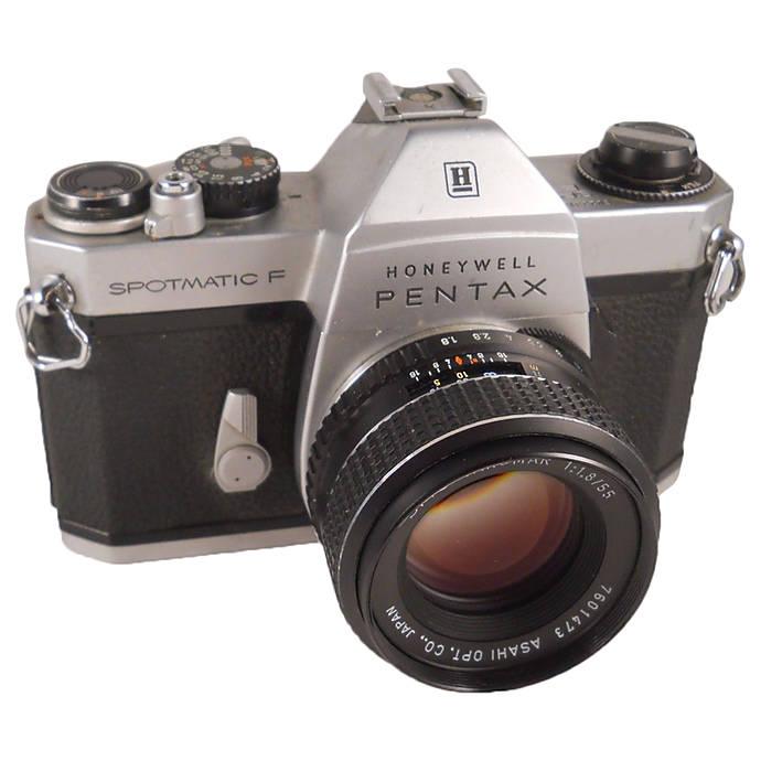 Máy Pentax Spotmatic F với ngàm M42